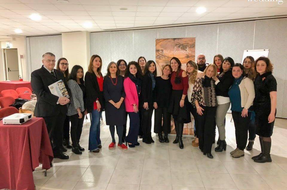 """Tour nazionale di seminari """"Diventare wedding planner"""" con Cira Lombardo: resoconto della tappa di Catania"""