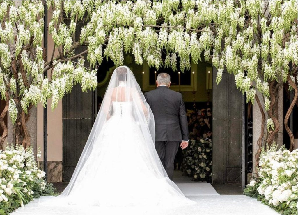 velo da sposa, chiesa